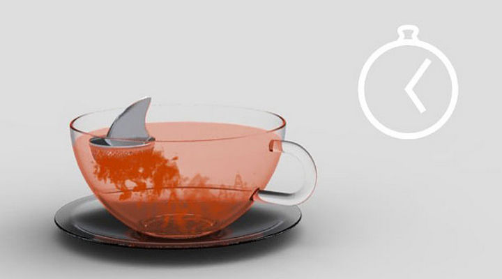 35 Kitchen Gadgets To Make Any Kitchen Guru Happy - Sharky Tea Infuser