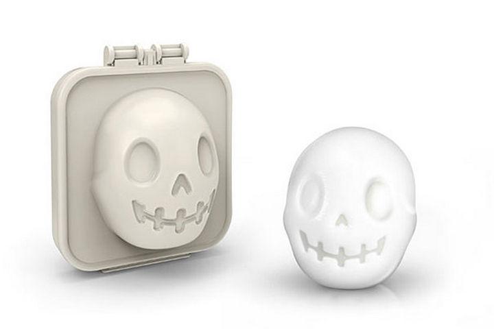 35 Kitchen Gadgets To Make Any Kitchen Guru Happy - Egg-A-Matic Skull Egg Mold Kitchen Gadgets
