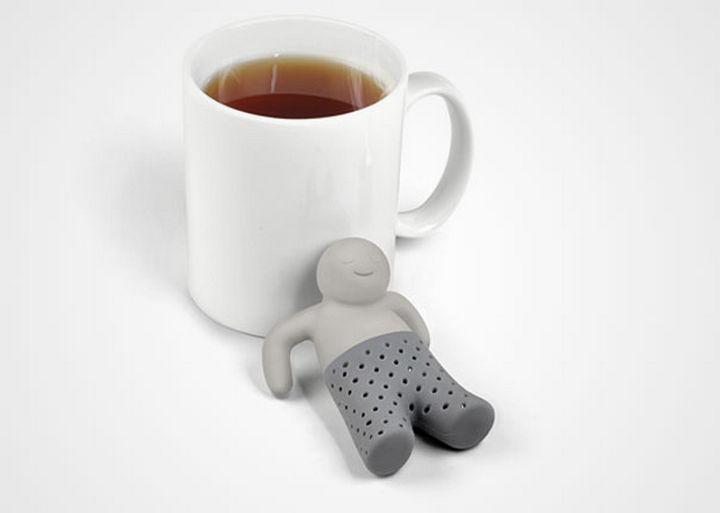 35 Kitchen Gadgets To Make Any Kitchen Guru Happy - Fred and Friends MR TEA Tea Infuser.