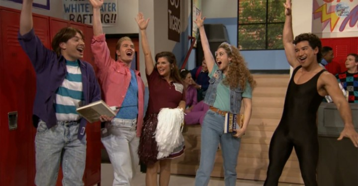 Cast of Saved by the Bell Fabulously Reunites on Jimmy Fallon.