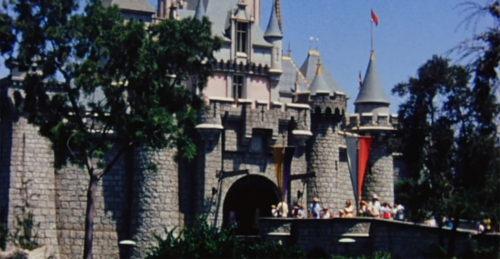 Here Is What Disneyland Looked like Two Years after It Opened.