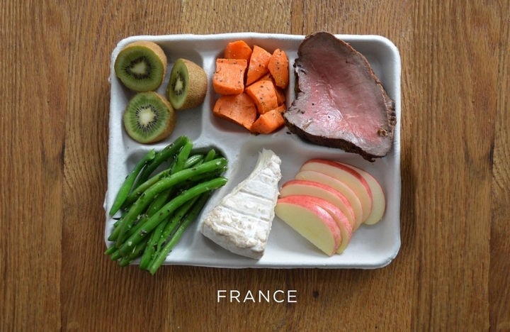 What School Lunches Look Like Around the World - France.