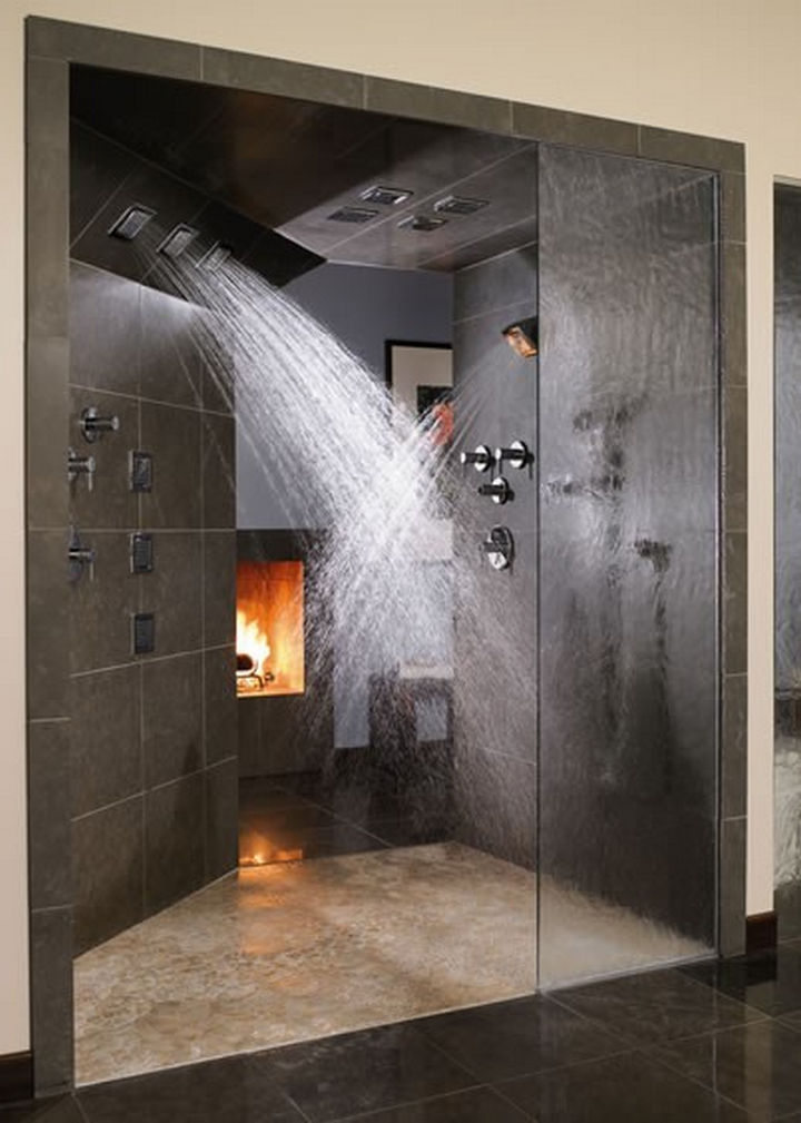 13 Beautiful Showers - Huge shower.