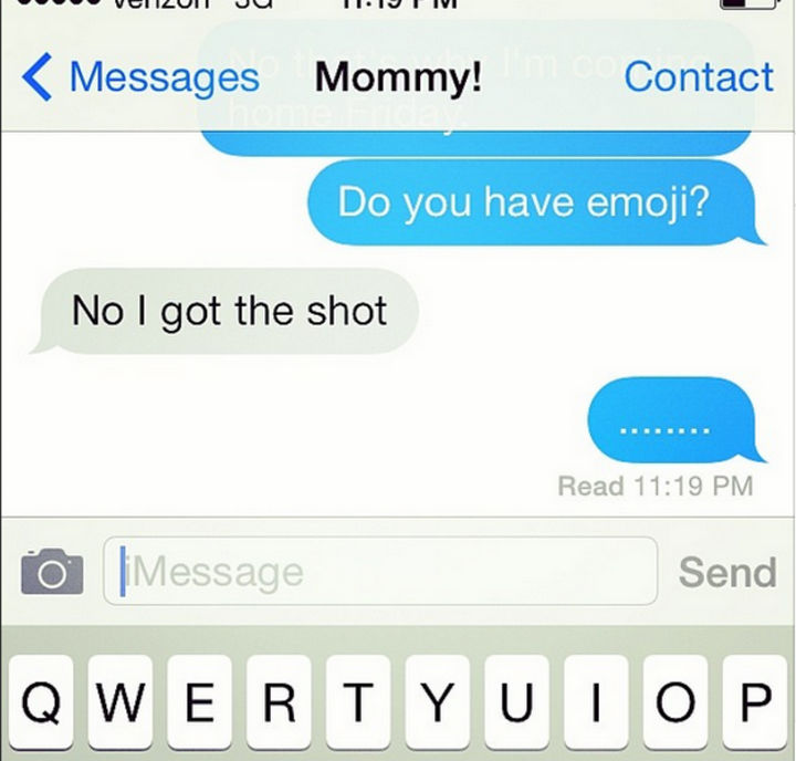 22 Hilarious Texts between Parents and Their Kids - Get the shot.