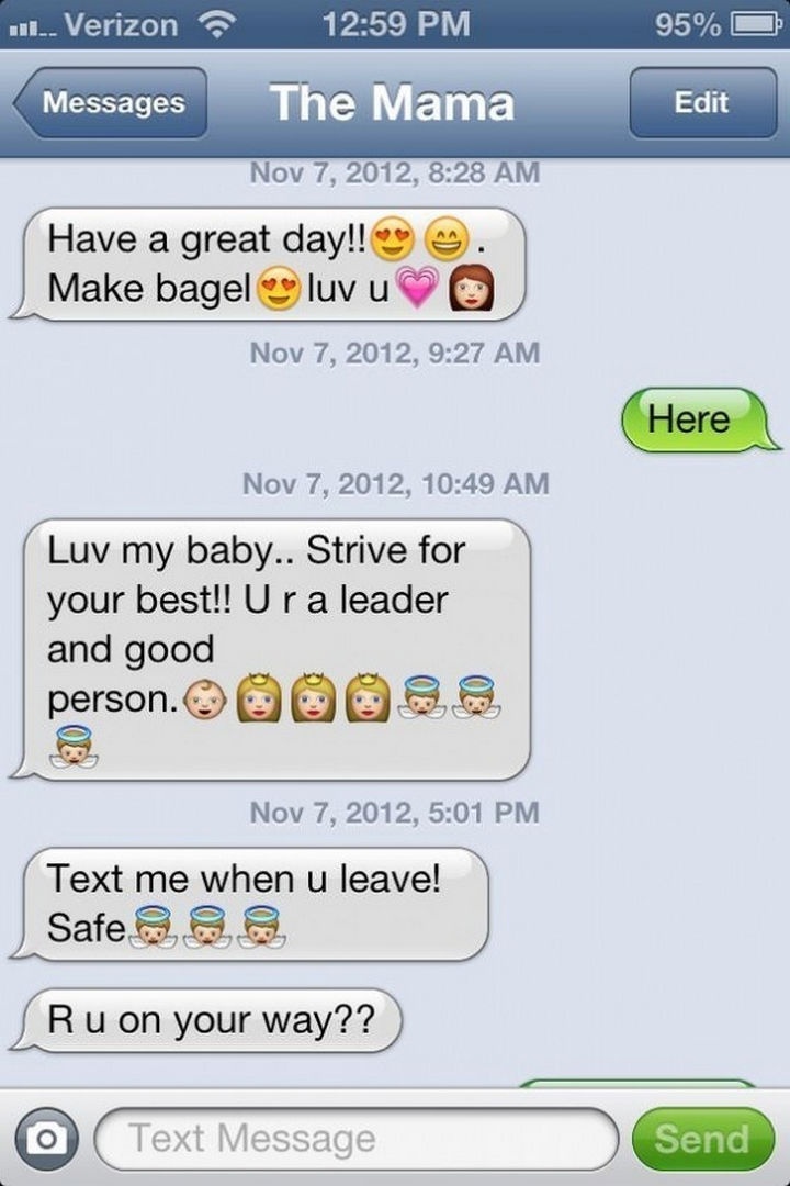 22 Hilarious Texts between Parents and Their Kids - Inspiring mom.