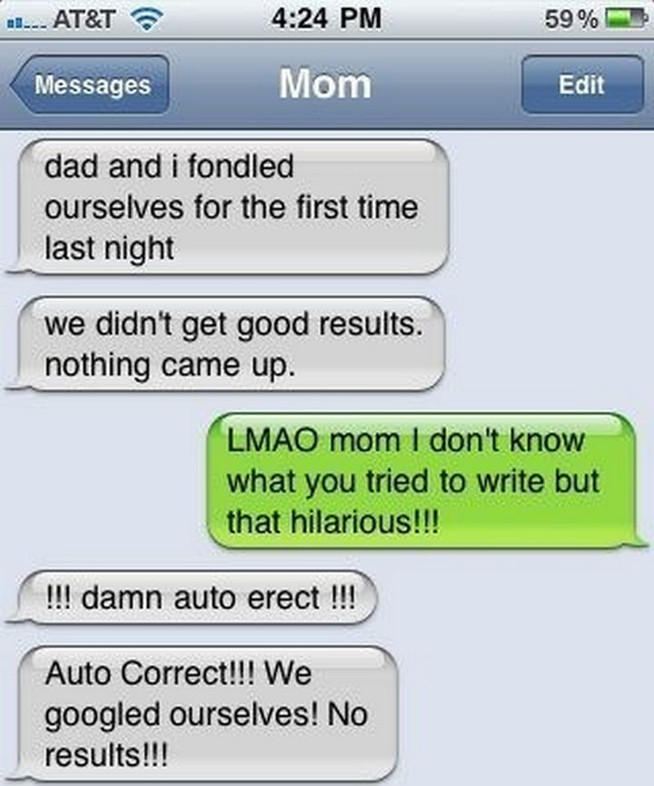 22 Hilarious Texts between Parents and Their Kids - Too much information.