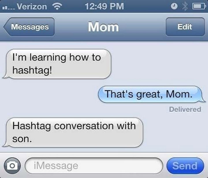 22 Hilarious Texts between Parents and Their Kids - #Conversation with son.