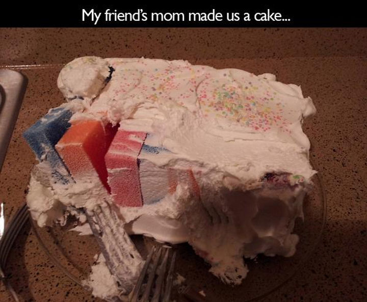 33 Trolling Parents - My friend's mom made us a cake...