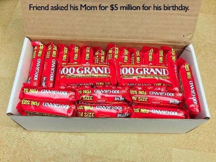 33 Trolling Parents - Friend asked his mom for $5 million for his birthday.