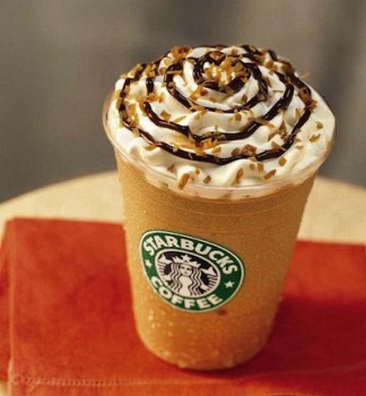39 Starbucks Secret Menu Drinks - Zebra Frappuccino recipe.