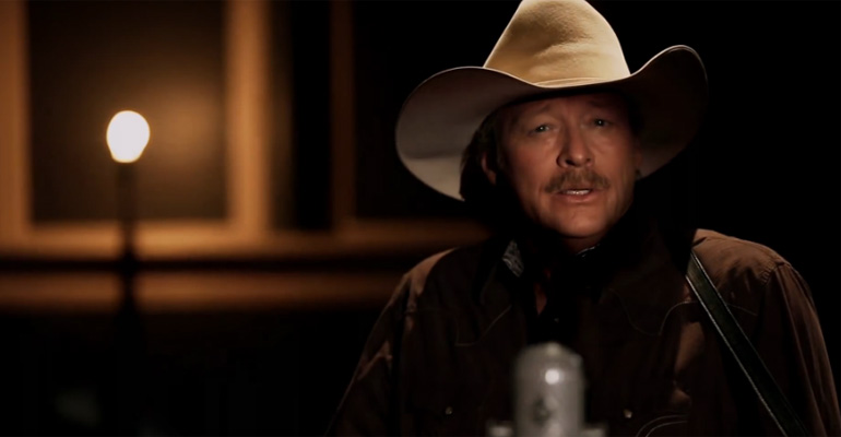 Alan Jackson Singing 'Amazing Grace' Is Beautiful.