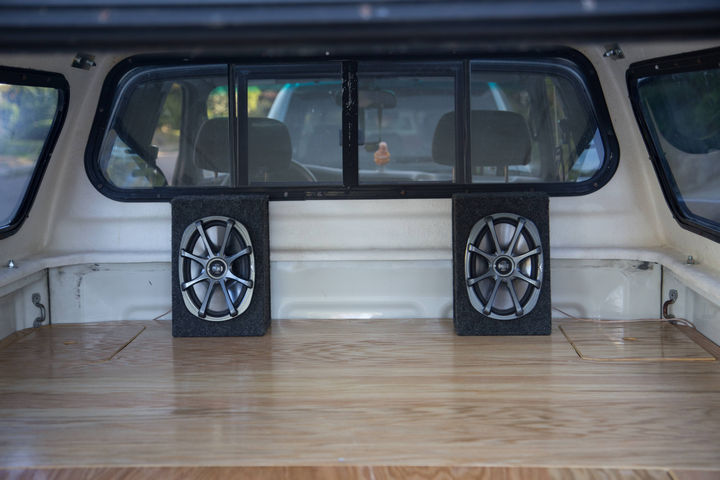 It wouldn't be complete without a set of speakers. Bluetooth speakers would make a great choice.