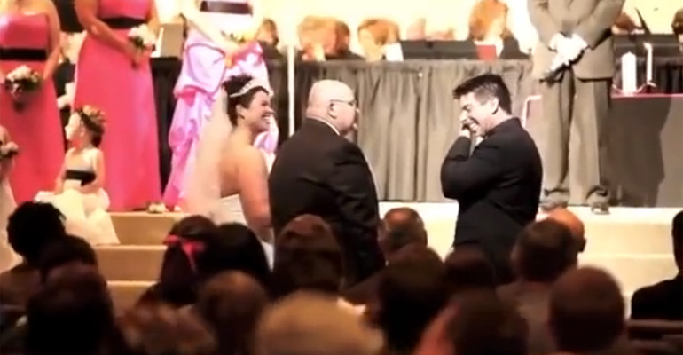 This Father Gave the Most Precious Speech before Giving His Daughter Away in Marriage