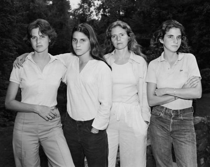 The Brown sisters - 1975