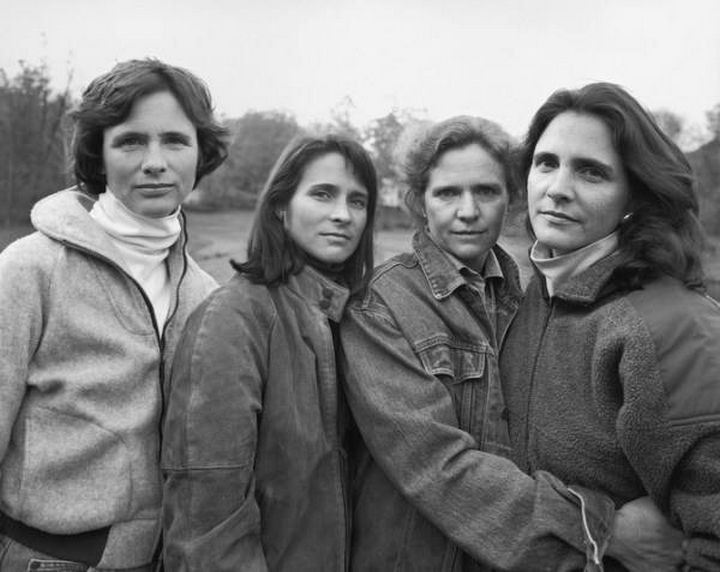 The Brown sisters - 1990