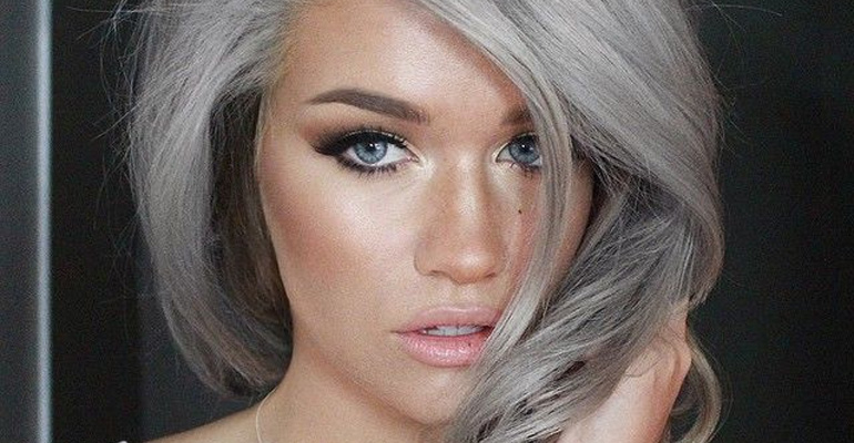 'Granny' hair is a hot trend and women are dyeing their hair gray.