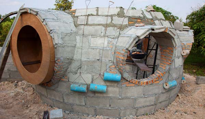 Hajjar offered his son-in-law who has superb masonry skills to help with the construction.