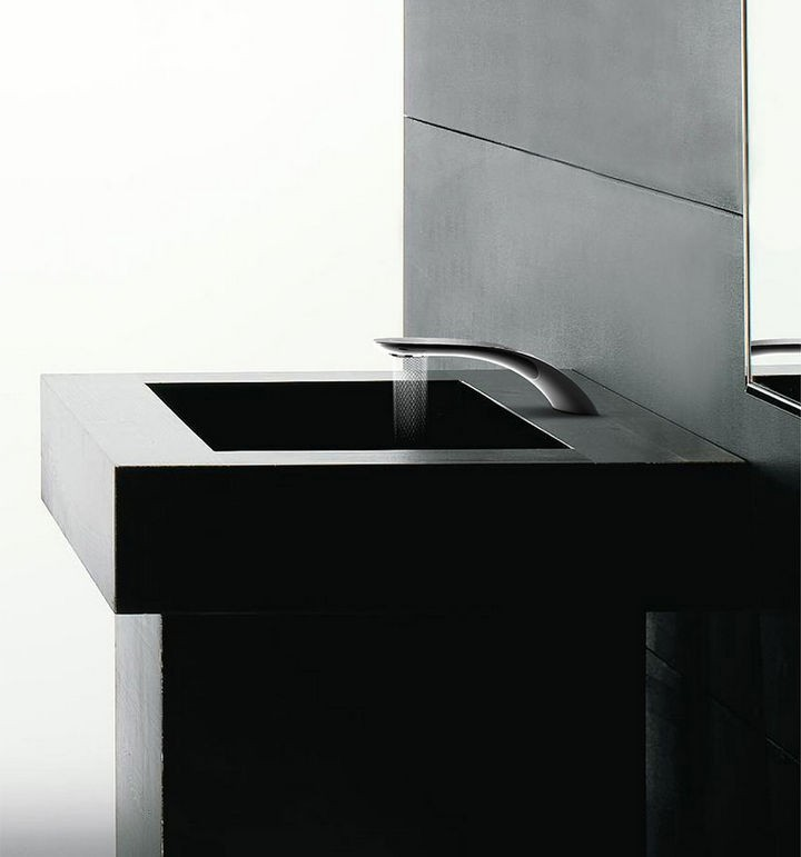 Faucets don't look cooler than this.