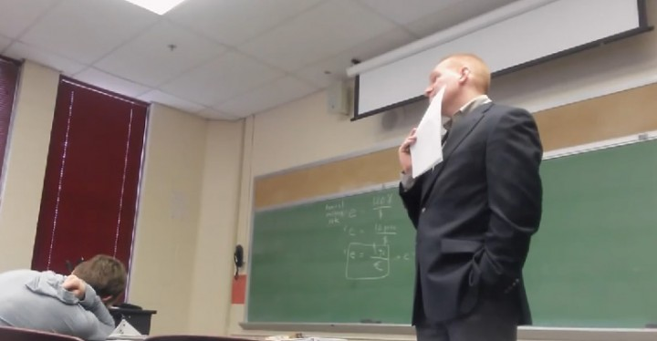 Student Played an April Fool's Cellphone Prank on Her Teacher.