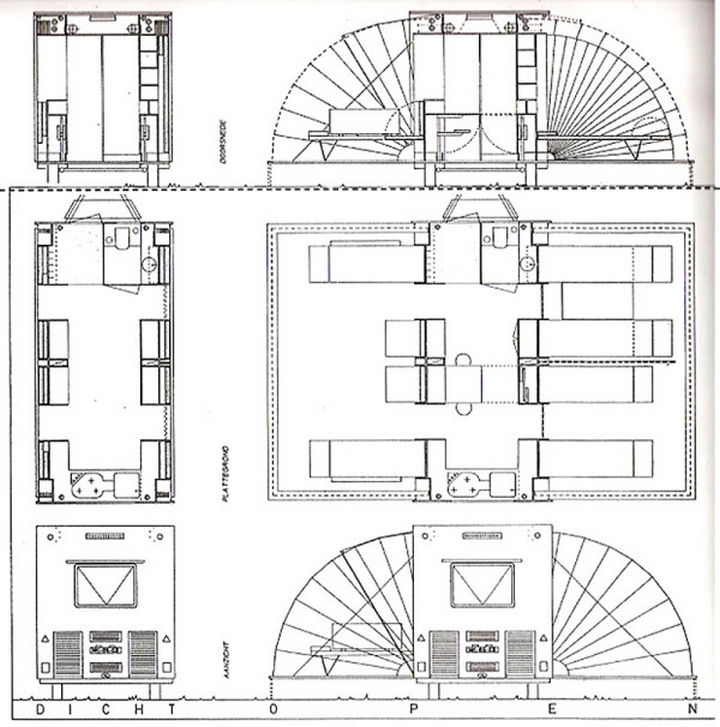 The floor plan of 'The Marquis' showcases how much square footage there really is when it is fully opened.