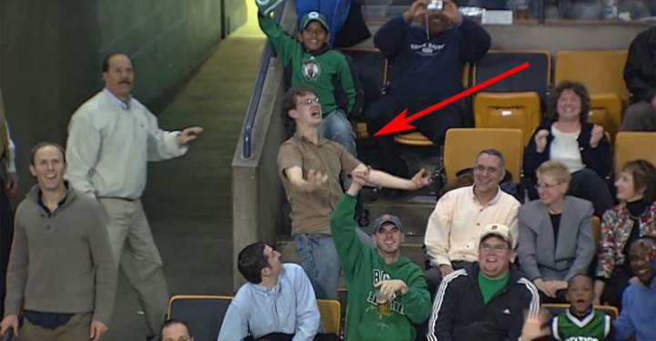 This Dancing Boston Celtics Fan Still Puts a Smile on My Face.