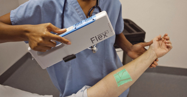 VeinViewer Will Allow Clinicians to See Your Veins in Real-TIme.