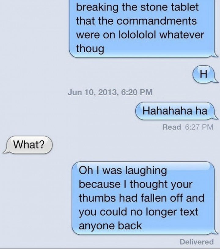 15 People With Ignored Text Messages When People Don't Text Back - Breaking the ice with humor.
