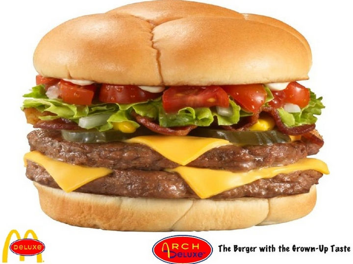 27 Failed Products - McDonald's Arch Deluxe.