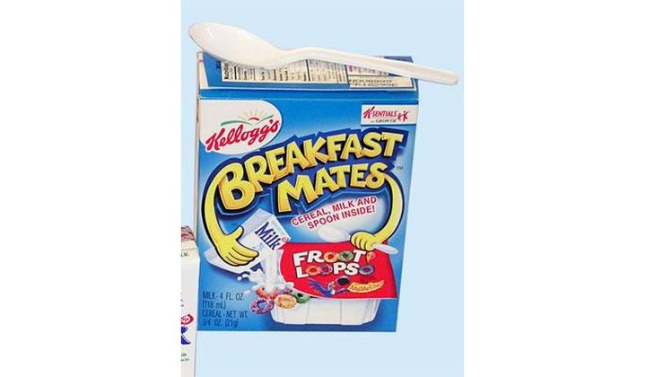 27 Failed Products - Kellogg's Breakfast Mates.