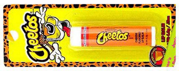 27 Failed Products - Cheetos Lip Balm.