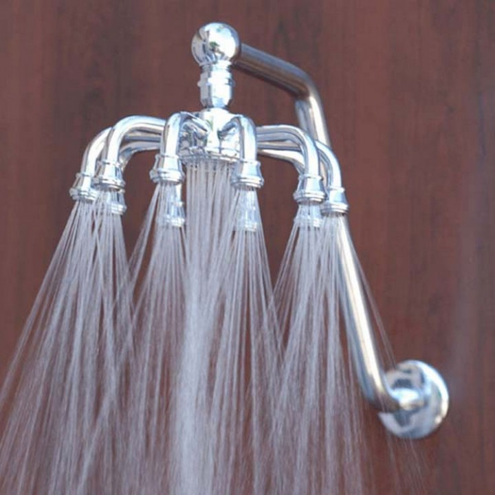 Replace your shower head and turn a regular shower into something special - 37 Home Improvement Ideas