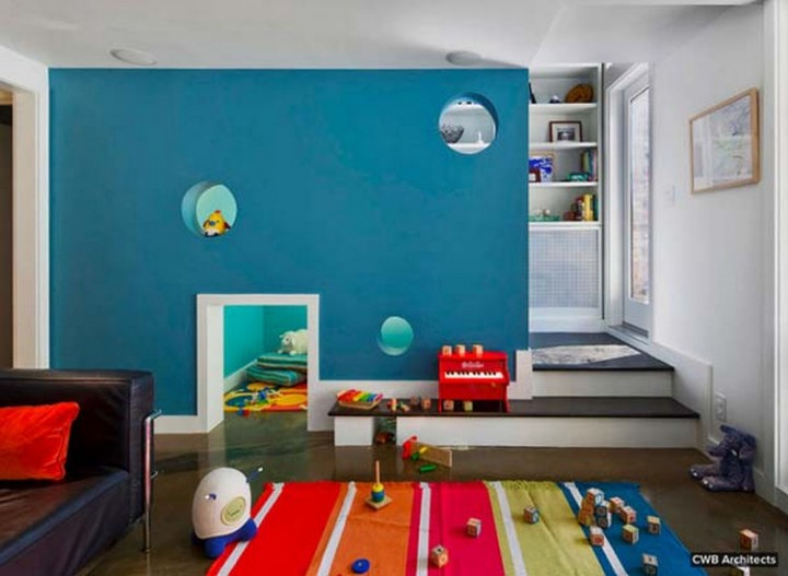 Create a fun tunnel between rooms for kids - 37 Home Improvement Ideas