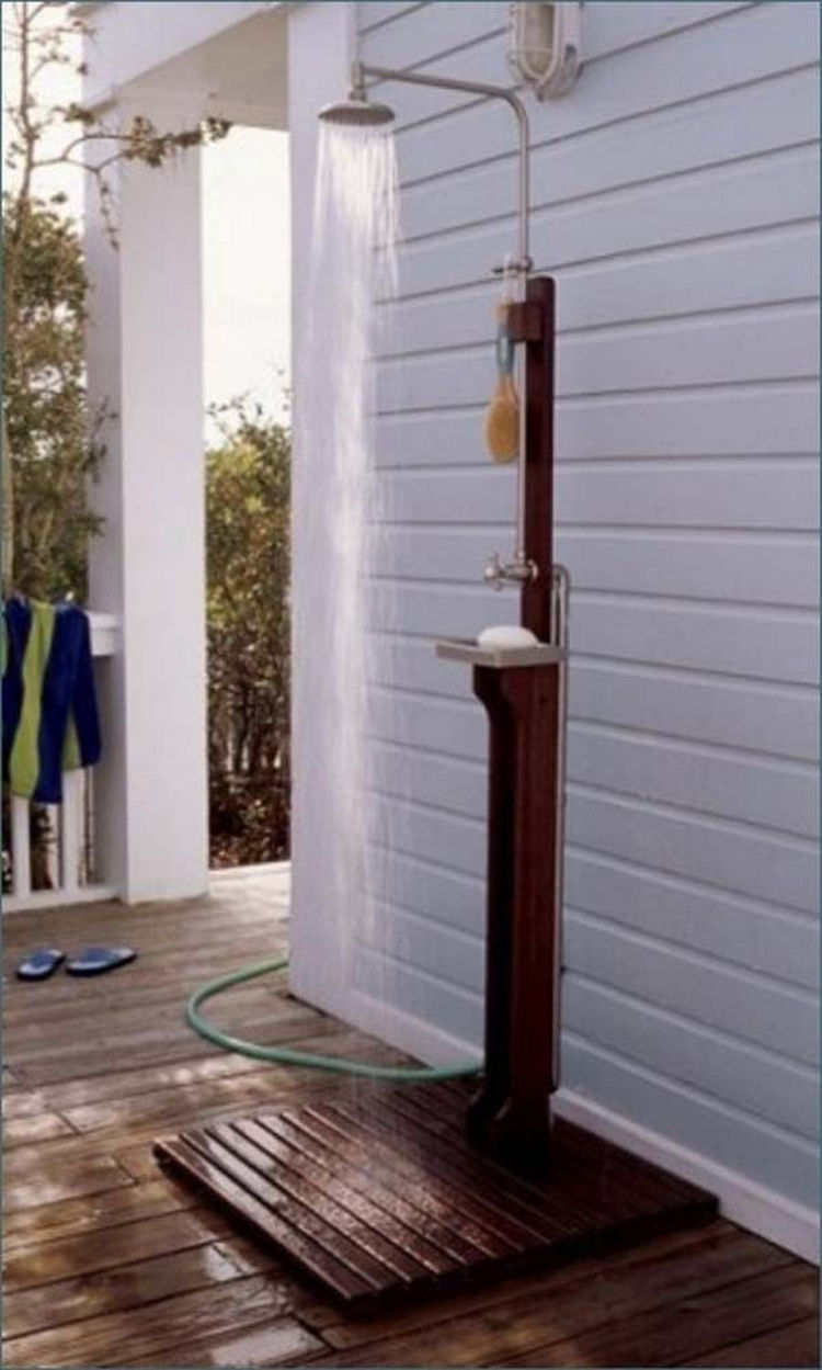 How to make an outdoor shower - 21 Build A Custom Outdoor Shower For Hot Summer Days Or To Rinse Off After Swimming