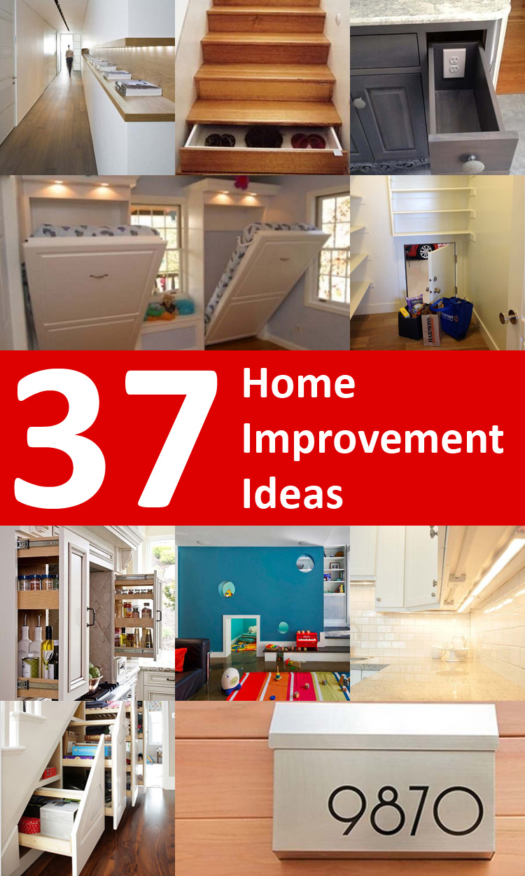37 Home Improvement Ideas to Maximize Your Living Space