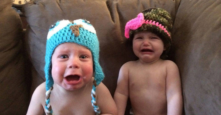 37 Photos of Kids Losing It and Crying for Funniest Reasons.