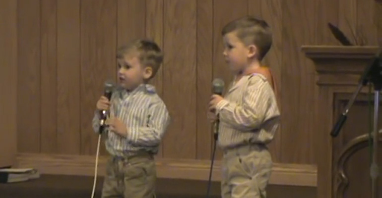 When These Little Brothers Started Singing an Easter Classic, I Couldn't Stop Smiling