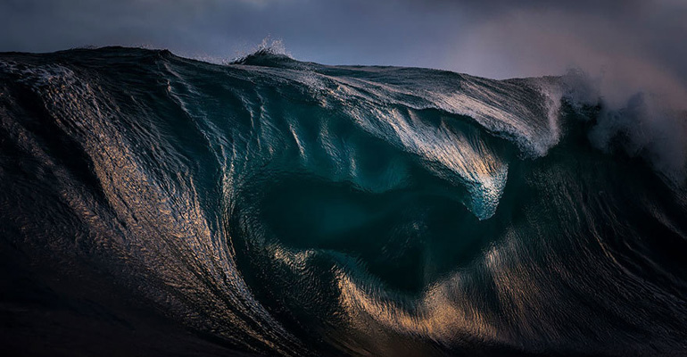He Captures the Most Breathtaking Photos of Ocean Waves.