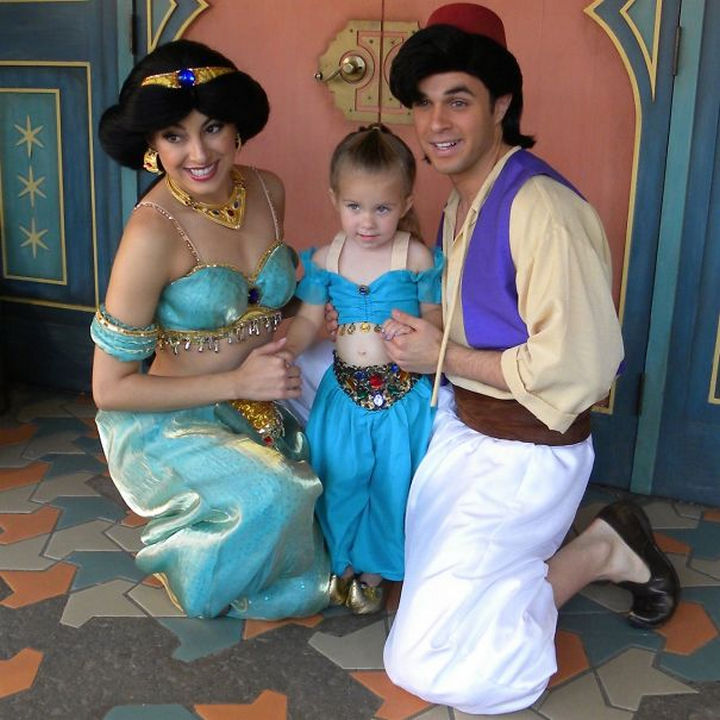 Princess Jasmine costume from Aladdin.
