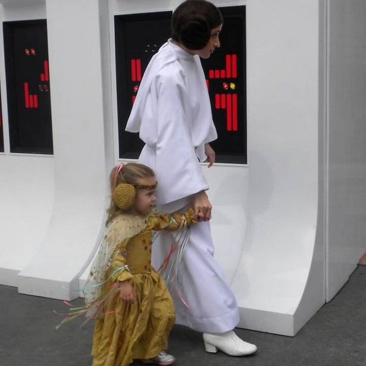 Princess Leia costume from Star Wars.