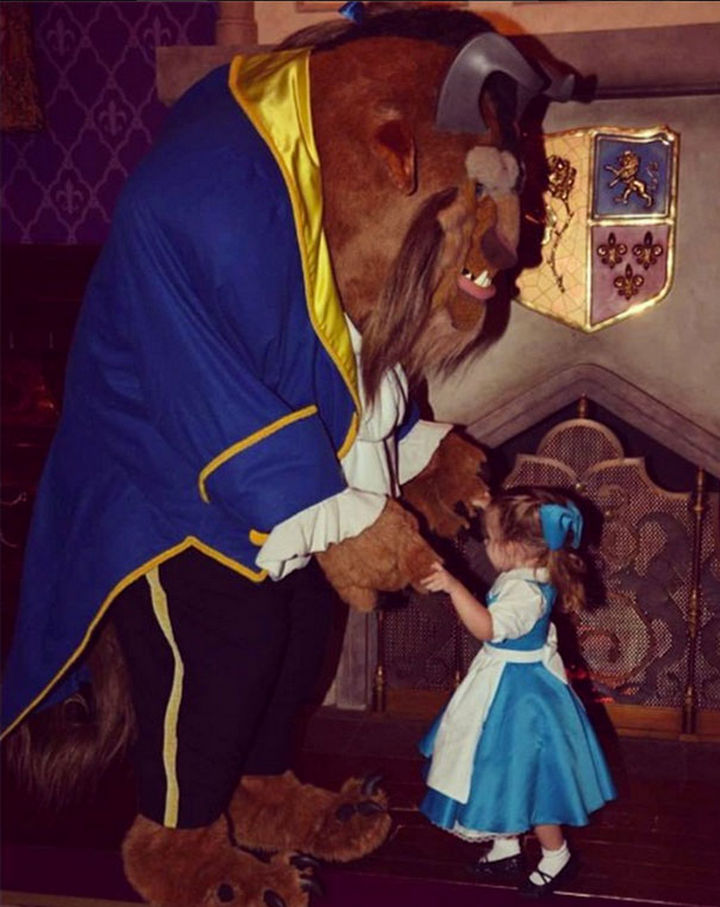 Belle costume from Beauty and the Beast.