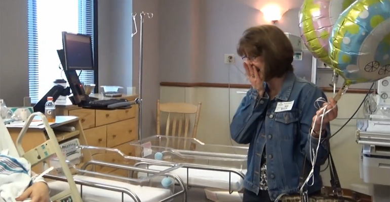 New Mother Kept a Secret From Her Family and Friends but Their Reactions Are Priceless