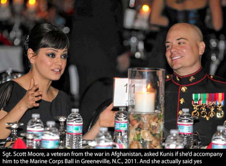 17 Celebrities Doing Random Acts of Kindness - Mila Kunis.