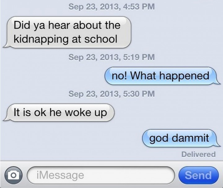 19 Funny Texts From Parents - Parents are so funny.