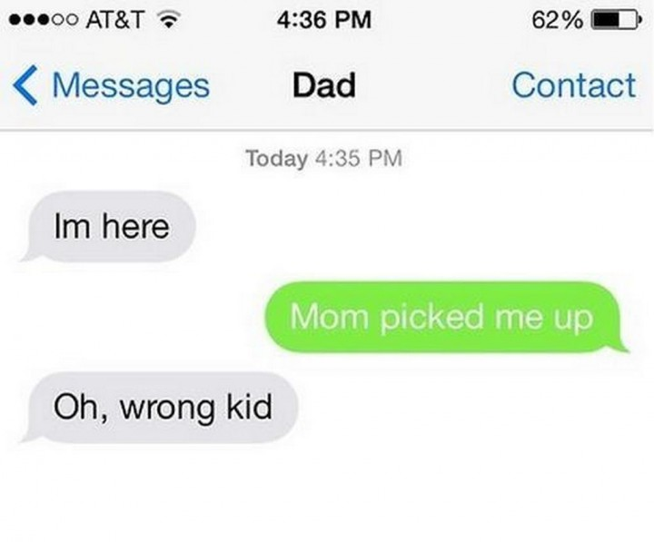19 Funny Texts From Parents - Oopsy!