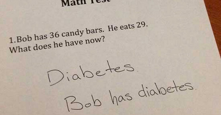 25 Clever Test Responses From Kids That Deserve an A+ for Entertaining