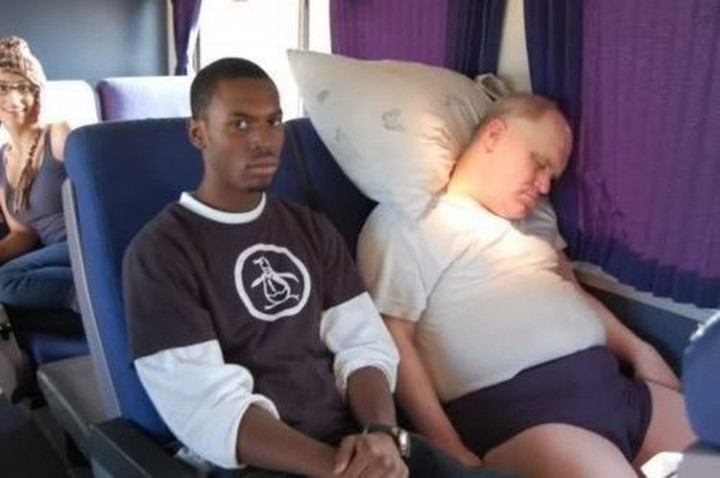 75 Incredibly Funny Pictures That Will Make You Smile - Not everyone is happy being in first class.