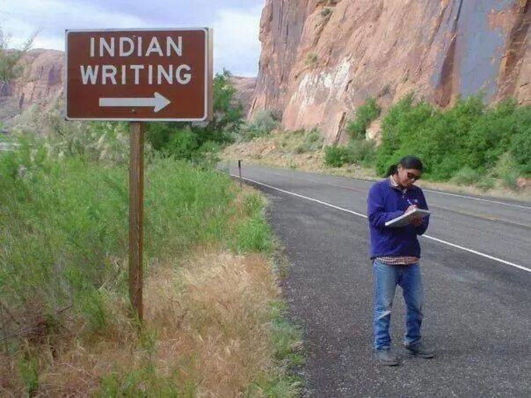 44 Incredibly Funny Pictures That Will Make You Smile - This man is only doing what the sign says.