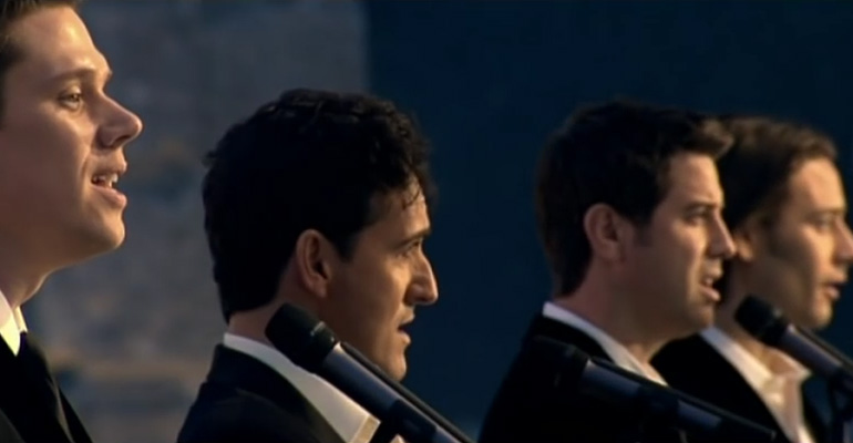 Il Divo Singing 'Amazing Grace' Cover Took My Breath Away.