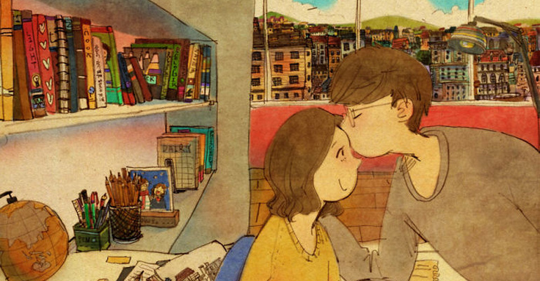 Korean Artist Captures Special Everyday Moments of Love