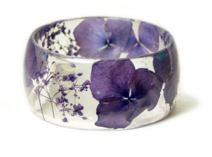 The company also creates and sells resin bracelets, pendants, and earrings.